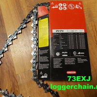 73EXJ066G 3/8 pitch 058 gauge 66 drive link Full Skip Saw chain Oregon