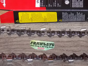 "75RD060G 16"" 3/8 pitch .063 60 DL RipCut Ripping chainsaw chain"