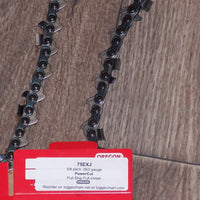 "75JGX135G 42"" Oregon saw chain superseded to 75EXJ135G PowerCut"