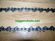 "91PX033G 8"" 3/8 LP pitch .050 gauge 33 DL AdvanceCut saw chain"