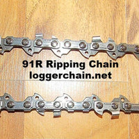 "91R040 10"" 3/8 LP pitch .050 gauge 40 DL RipCut Ripping saw chain"