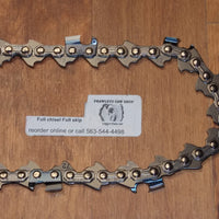 "72JPX064 18"" 3/8 pitch .050 gauge 64 DL Full Chisel Skip tooth Chain"