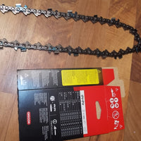 "75CK135G 42"" 3/8 pitch .063 135 DL Square ground Half Skip chisel chain"