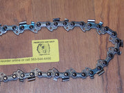 "M91VXL034 8"" 3/8 LP pitch .050 gauge 34 DL DuraCut HD saw chain"