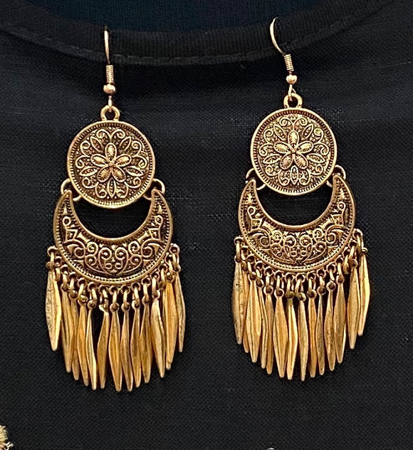 Bohemian Moon Earrings