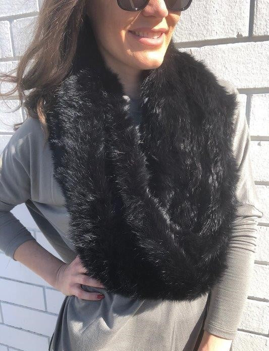 Fur Snood-Long