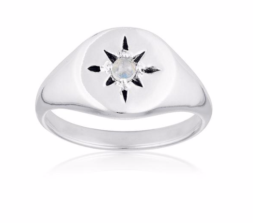 Northern Star Signet Ring