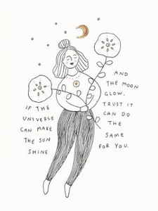 Musings From The Moon Prints