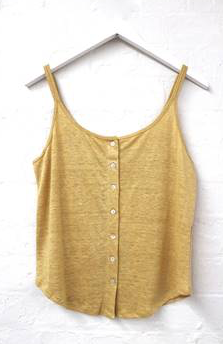 Shell Button Cami