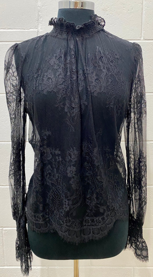 Victoria Long Sleeve Lace Top
