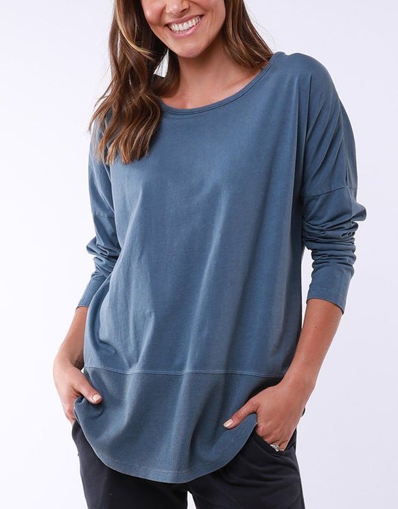 Fundamental Rib L/Sleeve Tee