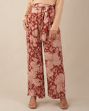 Wildflower Linen Pants