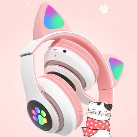 Cat Ear Headphones - Bluetooth