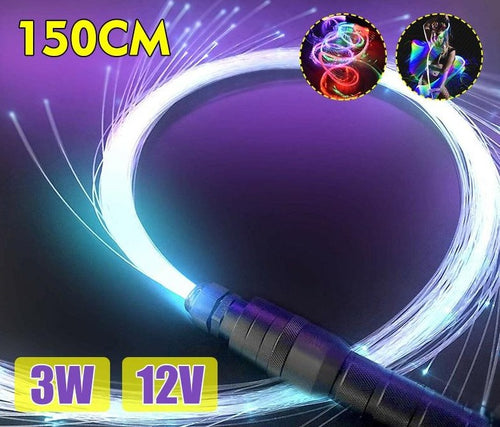 LED Fiber Optic Whip 360° Rotation