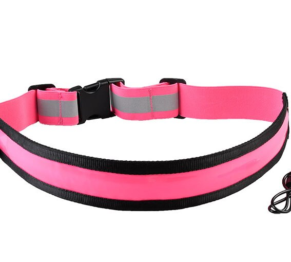 Rechargeable Reflective Belt With Three Flash Modes
