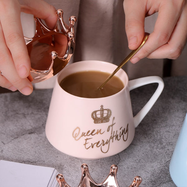 Crown Mugs: Queen of Everything