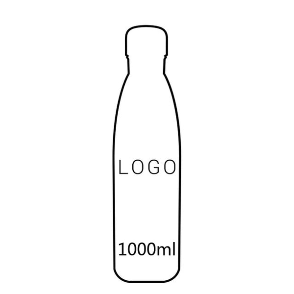 LOGO Custom Thermos Bottle Vacuum Flasks Stainless Steel Water Bottle Portable Sports Gift Cups