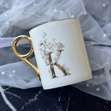 Load image into Gallery viewer, Gold Handle Couple Mug