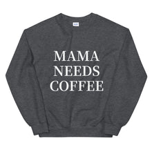Load image into Gallery viewer, Mama Needs Coffee Sweatshirt