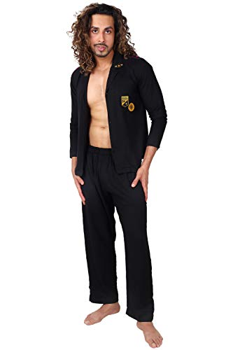 Panchayati Mausi Unisex Solid Night Suit Pyjama Set - Ribbons and Mustache