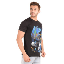 Load image into Gallery viewer, Water Harvesting Half Sleeve T-Shirt - Ribbons and Mustache