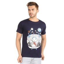 Load image into Gallery viewer, Alien's Party Half Sleeve T-Shirt - Ribbons and Mustache