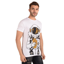 Load image into Gallery viewer, Popcorn Burst Half Sleeve T-Shirt - Ribbons and Mustache