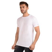 Load image into Gallery viewer, White Half Sleeve T-Shirt - Ribbons and Mustache