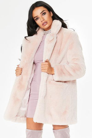 Loose Fur Fluffy Coat