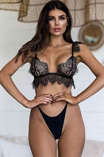 Harness Lace Bra