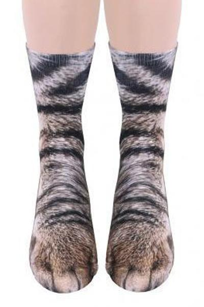 3D Unisex Adult Animal Print Socks