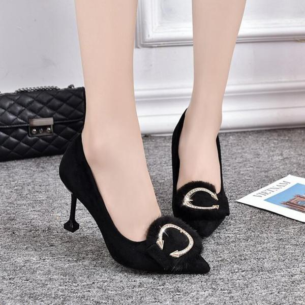 Arrow Shape High Heel Shoes