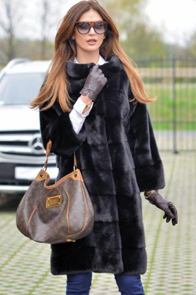 Royal Saga Mink Faux Fur Coat