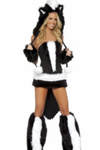 Animal Faux Fur Game Uniform