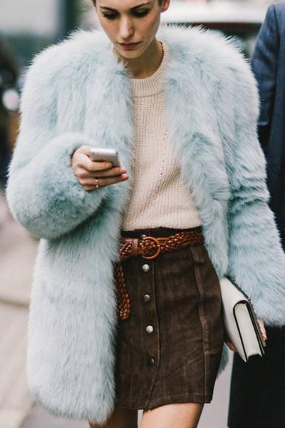 Cosy Fashion Warm Faux Fur Coat