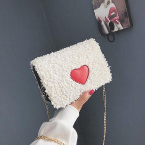 Cute Chain Shoulder Diagonal Square Bag
