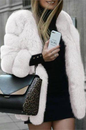 Super Warm and  Cute Faux Fur Coats