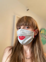 Lips Face Mask Adult