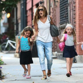Sarah Jessica Parker & The Twins: Back To School