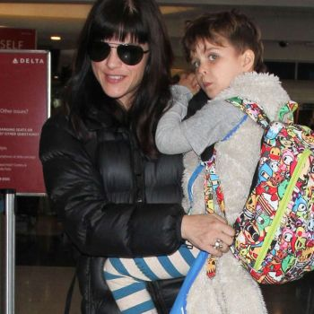 Selma Blair at LAX Airport in Los Angeles