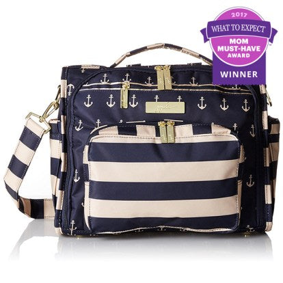 Ju-Ju-Be wins the MOM Must Have Award from the Best Diaper Bag in the 2017 What to Expect Awards