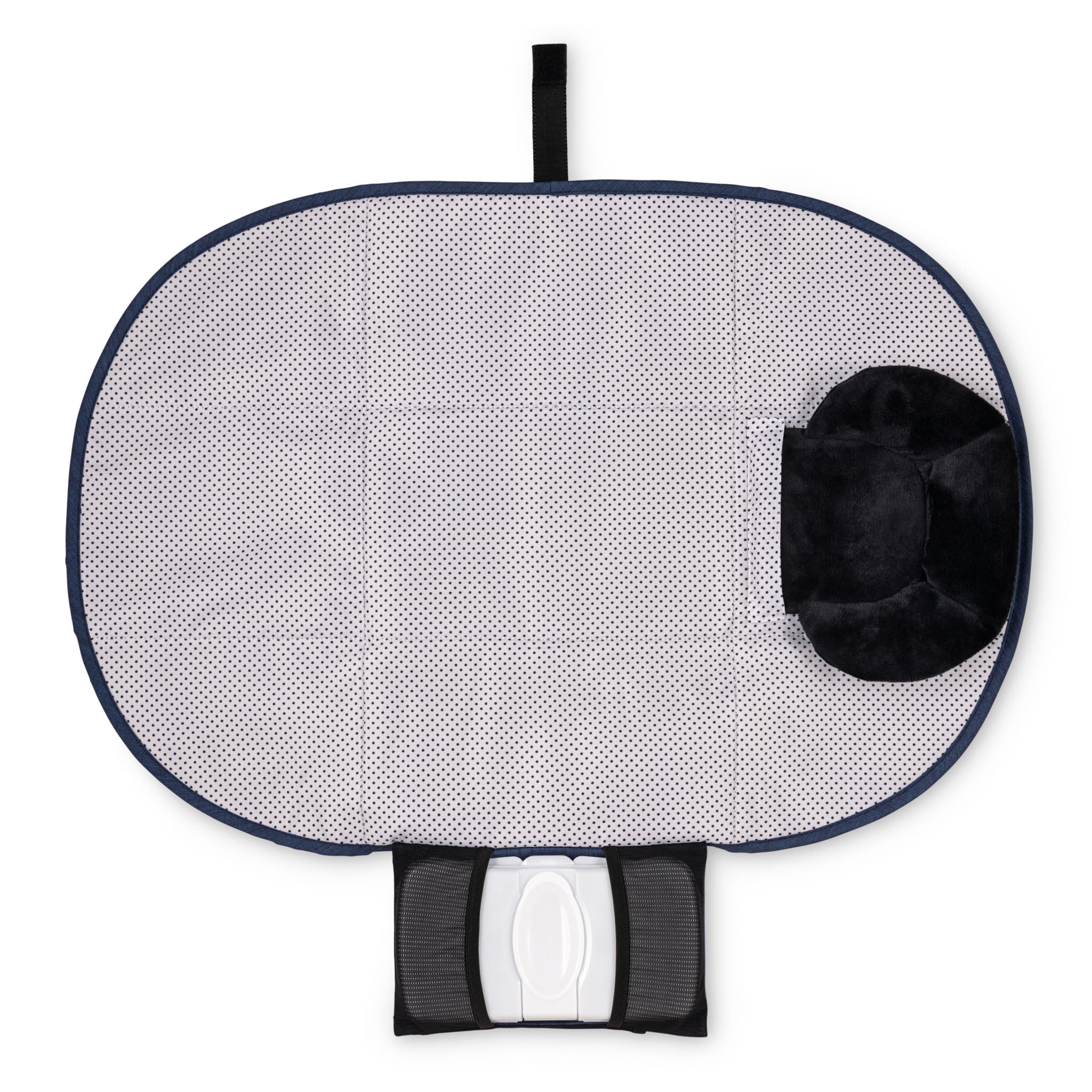 Changing Pad - All-in-1 Diaper Changing Station w/ Wipes Case & Pillow