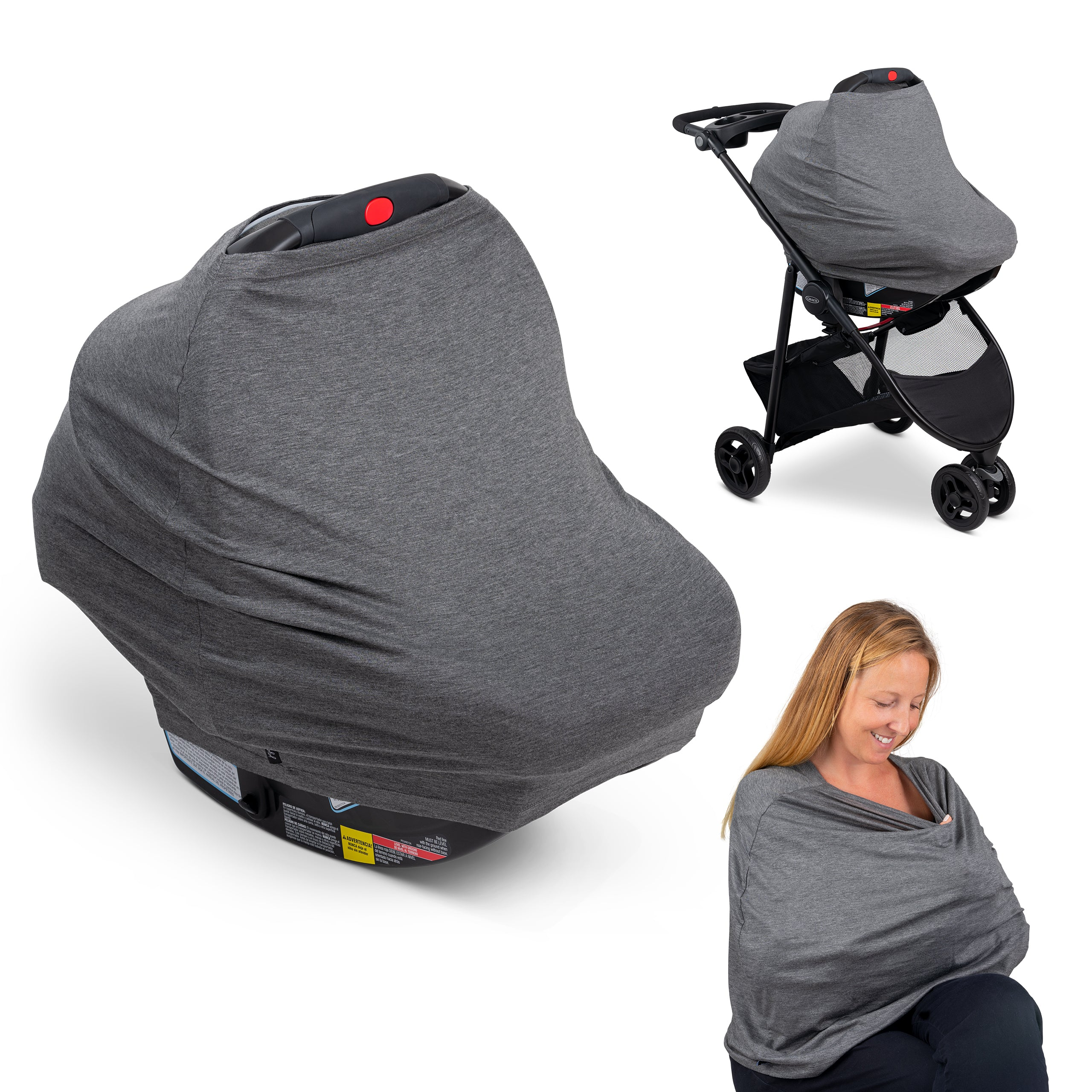 6-in-1 Multi-Use Car Seat Cover