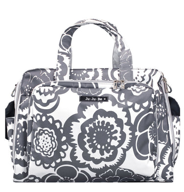 Be Prepared Diaper Bag - Frosted Blossoms - Ju-Ju-Be