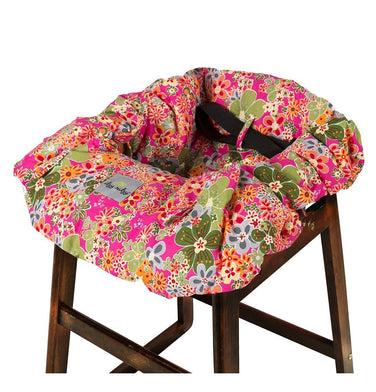 Itzy Ritzy for Ju-Ju-Be Ritzy Sitzy Shopping Cart and High Chair Cover - Perky Perennials