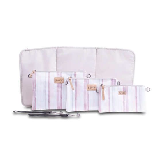 Core Convertible Bundle - Watercolor Stripe
