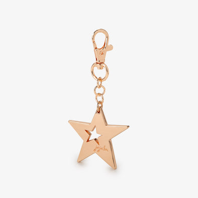 15th Anniversary Star Bag Dangle- Rose Gold [hidden]
