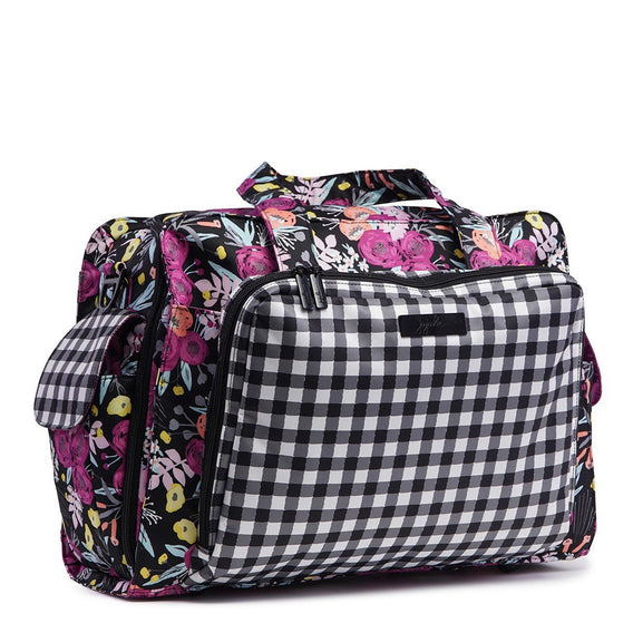 Be Prepared Diaper Bag - Gingham Bloom - Ju-Ju-Be
