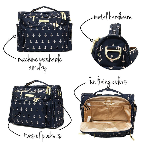B.F.F. Diaper Bag - The Admiral - Ju-Ju-Be
