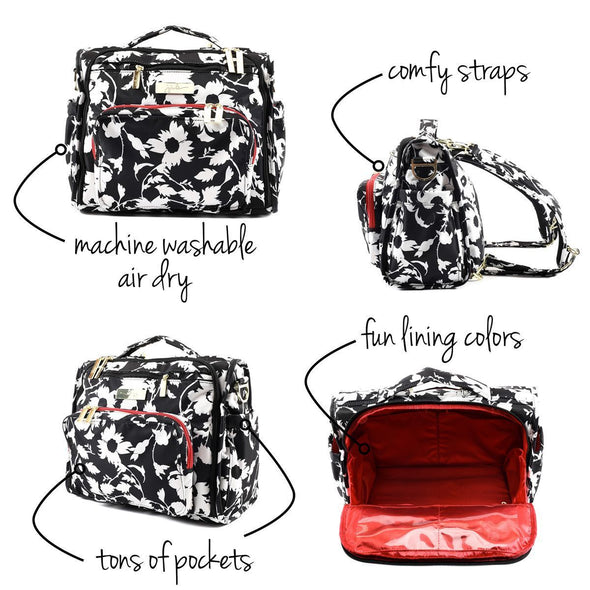 B.F.F. Diaper Bag - Imperial Princess - Ju-Ju-Be